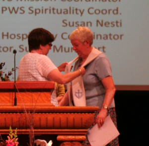 Martha Manning, Bloomsburg First Presbyterian installed as the Moderator of the PW Synod of the Trinity